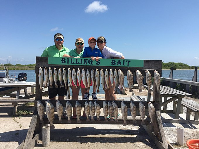 After a guided fishing trip with Capt. Morgan Clark